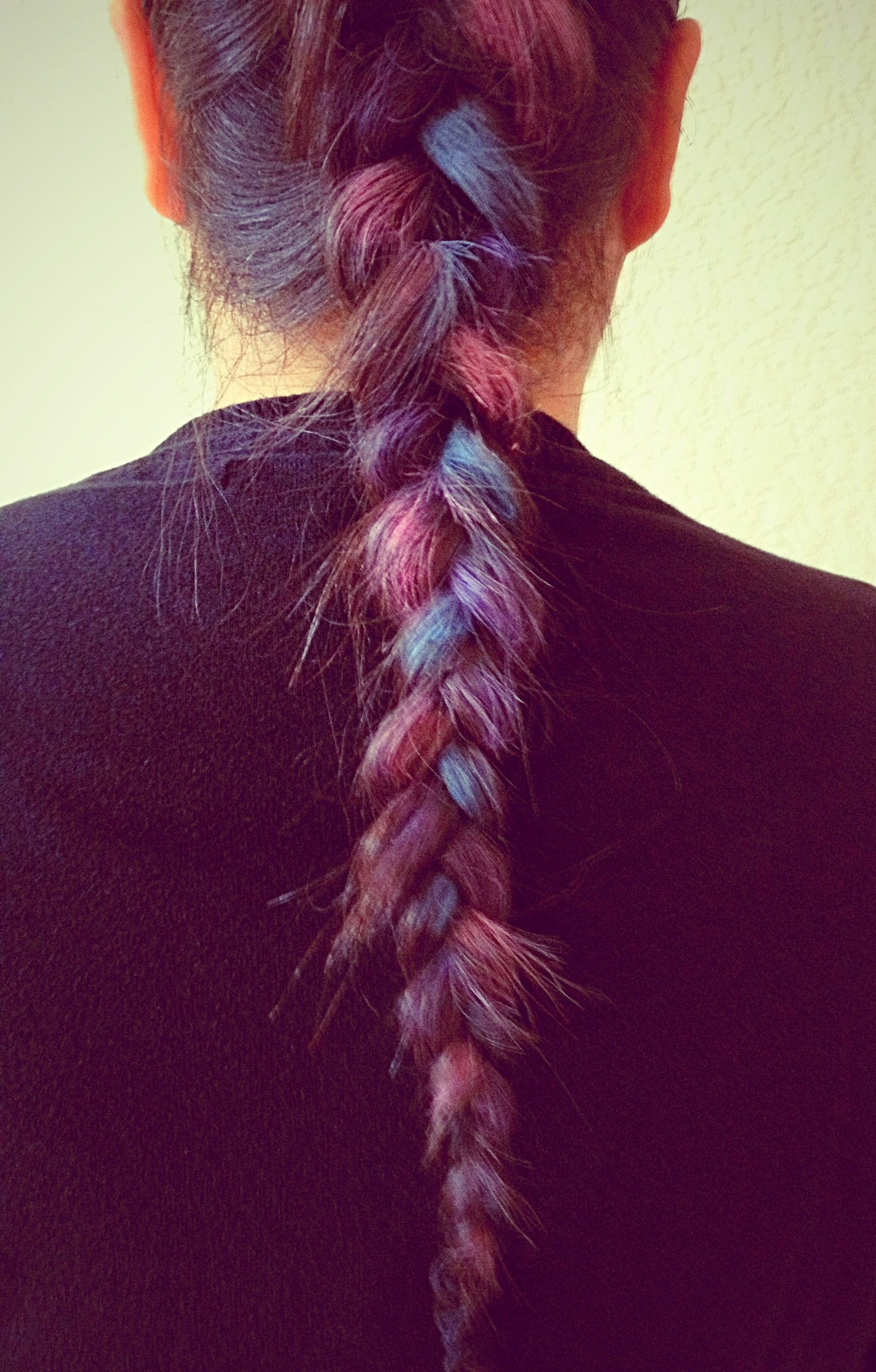 Simply Crafty: Chalked hair
