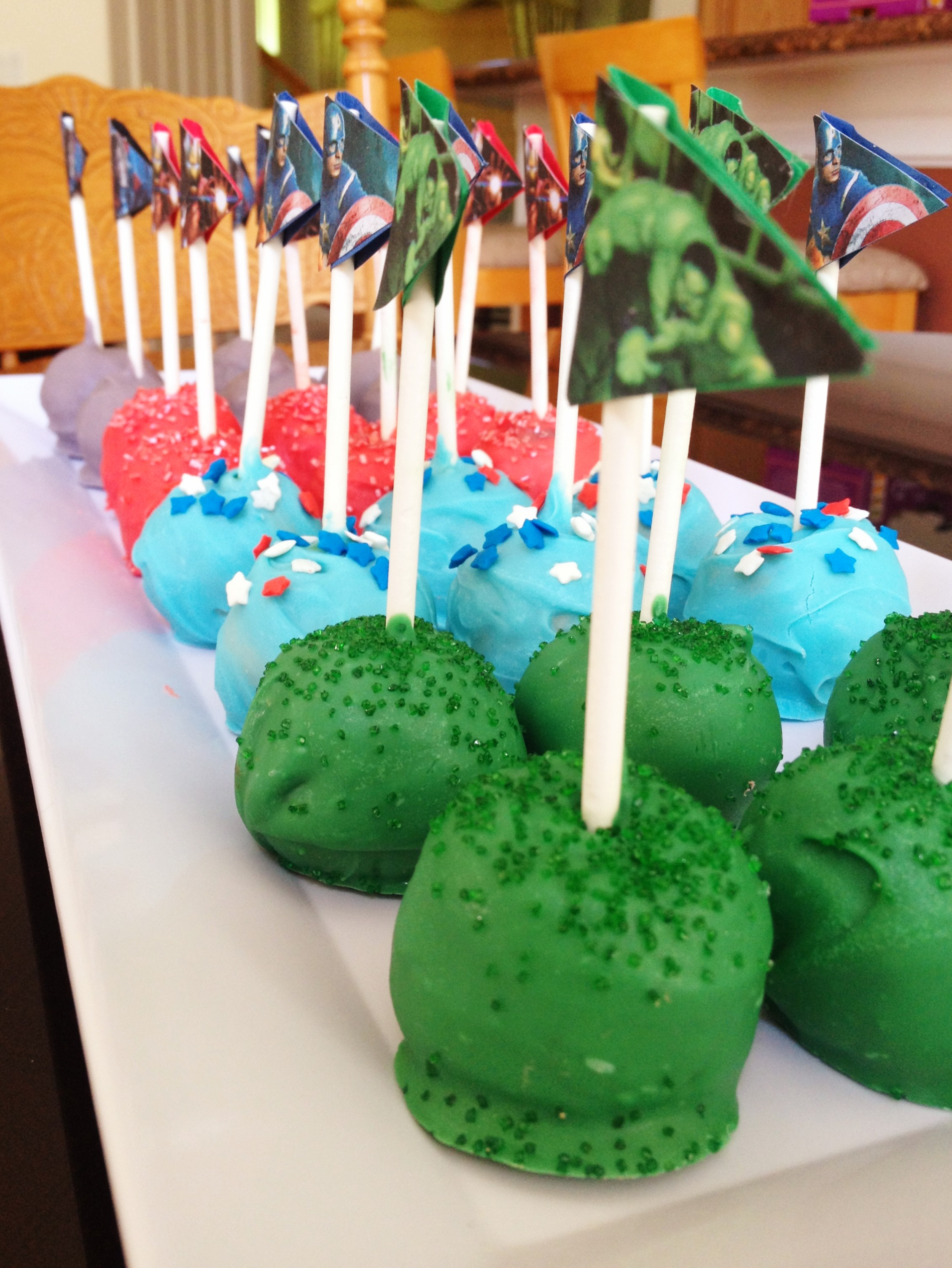 Themed Cake Pops