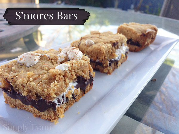 SmoresBars with Simply Evani