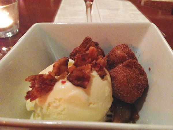 Bacon Ice Cream from 58 degrees | Simply Evani
