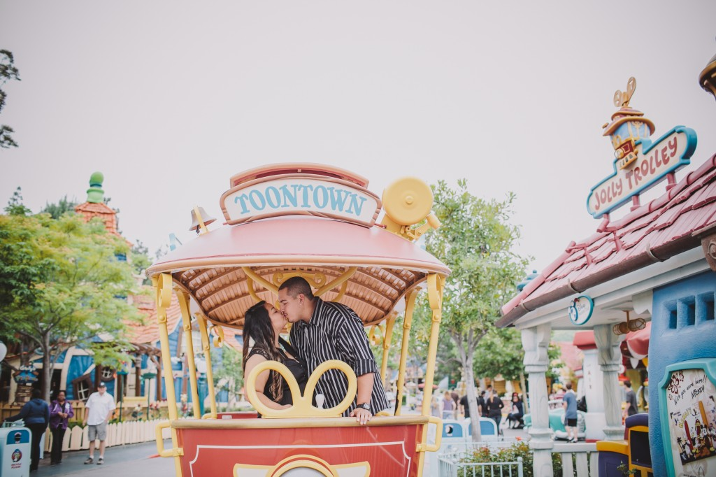 Disneyland southern California engagement session photo-9306