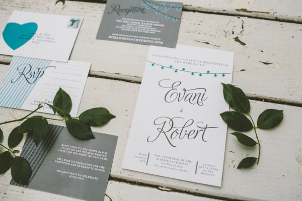 Magnet Street Wedding Invites